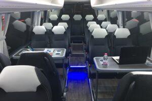 Interiores autobuses monsegur